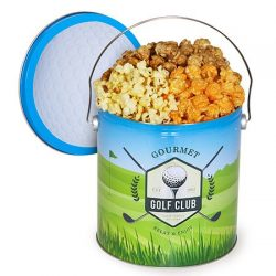 Golf Popcorn Tin – Traditional Mix