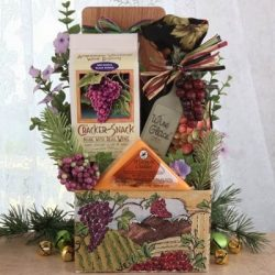 Napa Valley Chateau Gourmet Holiday Gift Basket