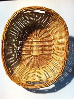Willow Display Basket for Bread or Fruits Makes a Great Gift Basket 15.5″ x 13″