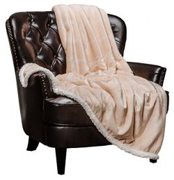 Chanasya Warm Hugs Positive Energy Healing Thoughts Super Soft Fleece Sherpa Microfiber Comfort  ...