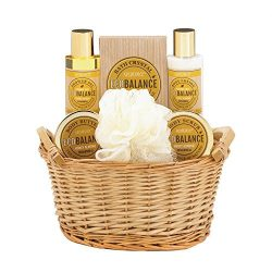 Gift Baskets For Women, Birthday Holiday Thanksgiving Gift Baskets Mom (almond)