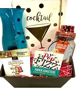 Cocktail Mix Gift Sets – Ice Bucket, Cocktail Mix, Glass +More – Just Add Alcohol &# ...