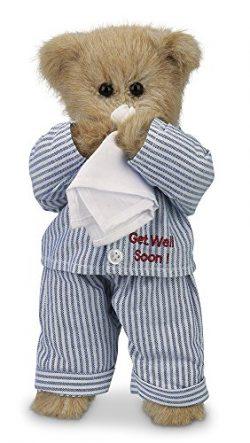 Bearington Illie Willie Get Well Soon Teddy Bear 10″