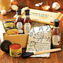 Stonewall Kitchen Grilling Favorites Gift Crate – 8 Piece Gift