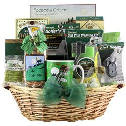 GreatArrivals Golfer's Delight Father's Day Golf Gift Basket, 6 Pound