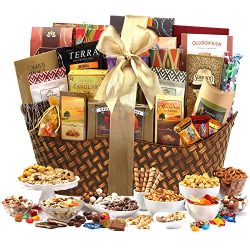 Broadway Basketeers Gourmet Gift Basket, Ultimate Classic, 9 Pound