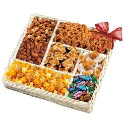 Broadway Basketeers Assorted Nut Gift Basket