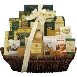 GreatArrivals Heartfelt Condolences Premium Sympathy Gift Basket, 8 Pound