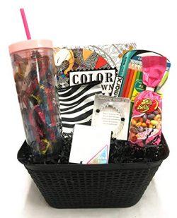 Snack Gift Basket for Girl – Teen, Tween, Preteen, Girlfriend, Young Woman – Perfect ...