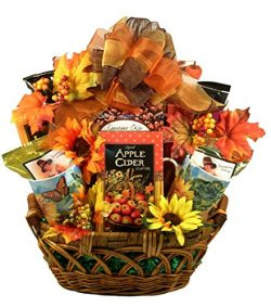 Gift Basket Village The Colors of Fall Thanksgiving and Fall Gift Basket, Small, 7 Pound