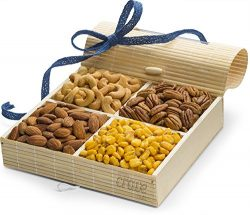 Gourmet Nuts Gift Baskets ~ Great Nut Assortment for Holiday, Corporate, Fathers Day or Thanksgi ...