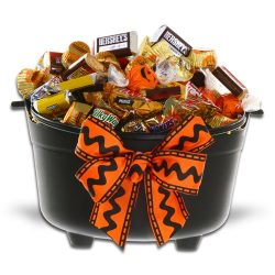 A Cauldron of Halloween Fun Gift Basket