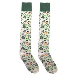 St. Patrick's Day Novelty Knee High Socks – for Women or Teens -Variations include L ...