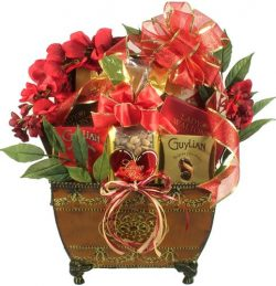 Gift Basket Village Some Enchanted Evening Romantic Valentine Gift Basket