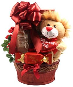 Gift Basket Village I Only Have Eyes for You Romantic Gift Basket