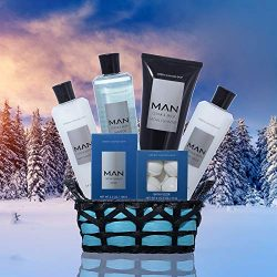 Premium Bath and Body Spa Gift Set For Him in Natural Cedar Wood and Musk Fragrance – Lush ...