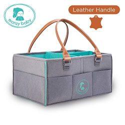 Diaper Caddy | Nursery Storage Bins | Changing Table Organizers | Baby Shower Registry | Boys Gi ...
