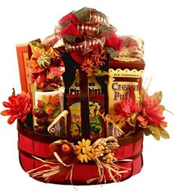 Gift Basket Village A Celebration Of Fall – A Fall Gift Basket – Medium, 8 Pound