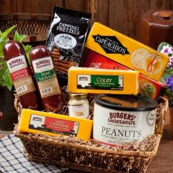 Burgers' Smokehouse Office Party Basket