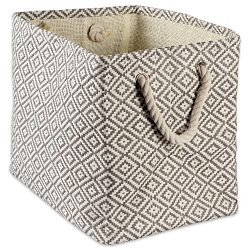 DII Woven Paper Storage Basket or Bin, Collapsible & Convenient Home Organization Solution f ...