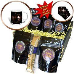 3dRose Jewish Themes – Image of Lit New Year Menorah and Says L Shana Tova – Coffee  ...