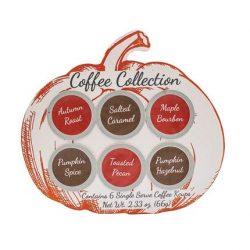 Gourmet Fall Coffee Assortment Sampler – Maple Bourbon, Pumpkin, Salted Caramel, and Pecan ...