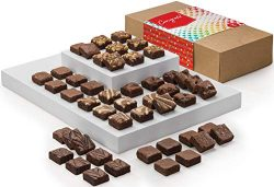 Fairytale Brownies Congratulations Magic Morsel 48 Gourmet Chocolate Food Gift Basket for New Ho ...