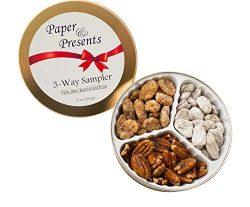 Gourmet Pecan Gift Nut Assortment Sampler for Christmas, Holidays, Xmas, Birthday, Corporate, an ...