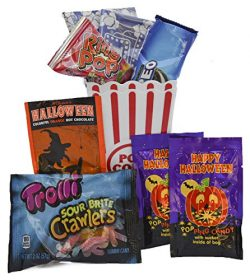 Halloween Movie Night Gift Bundle Care Package – Great for Scary Movie Marathon, Included  ...