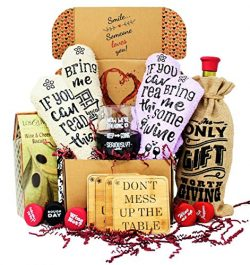 Wine Gifts for Women Surprise Box – Perfect Birthday Gift Basket for Women or Wine Basket  ...