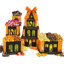 Haunted House Halloween Gift Tower