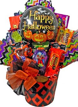 Delight Expressions BOO Bites Halloween Gift Basket – Chocolate and Candy Gift