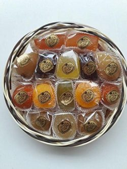 Candied Fruit Assortment Gift Basket (1.1 lb),Gift Box,Petite Gourmet,Best Gift For Christmas, L ...