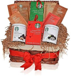 GIFT UNIVERSE Starbucks Thinking of You Gift Basket – 7 Different Popular Flavors –  ...