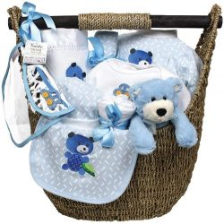 Raindrops Welcome Home Gift Set, Blue, 3-6 Months