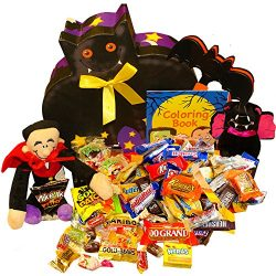 Bats About You Halloween Gift Box of Snacks & Candy Treats