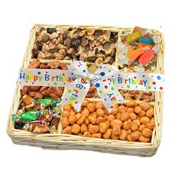 Happy Birthday Nuts, Caramels & Sweets Gift Tray