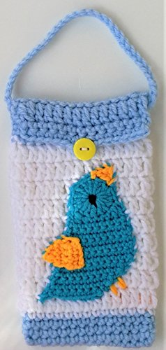 Cute Bird Items Crocheted handbag Cases For Cell Phone iPhone Android Bags Mothers Day Gifts Ide ...