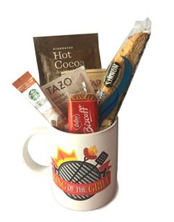 Gift Baskets for Men – Manly Mans Coffee and Snack Attack Gift Baskets – Perfect for ...
