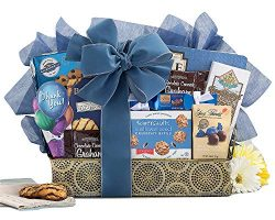 Art of Appreciation Thank You Elegant Gourmet Gift Basket By Wine Country Gift Baskets With a Bl ...