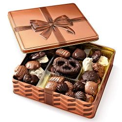 Holiday Chocolate Gift Box – Gourmet Gift Basket Prime – Assortment Tray – Thanksgiving Ch ...