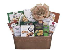 Remarkable Gift Co. Sweet and Savory Collection Favorite Gift Basket With Cookies, Crackers, Cho ...