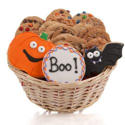 Halloween Cookie Gift Basket- 24 Pc.