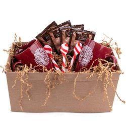 Lindt Gourmet Hot Chocolate Gift Sets – Christmas Present Basket For Coworkers, Family, Fr ...