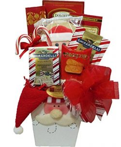 "Delight Expressions®""Santa Says"" Holiday Candy Bouquet – A Christmas Gift Bask ..."
