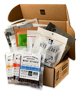 People's Choice Beef Jerky – Jerky Box – One of Everything – Meat Snack  ...
