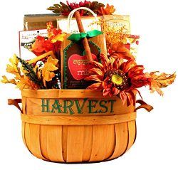 Gift Basket Village – A Taste of Autumn Gift Basket, Large Fall Gift Basket Loded with Fal ...