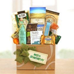 Heartfelt Thoughts Bereavement Gift Basket