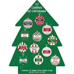 K Cup Coffee Christmas Gift 12 Single Serve Keurig Variety Sampler Assortment- Winter, Holidays  ...