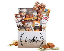 Thanksgiving Thankful Harvest Special Fall Gourmet Gift Basket